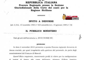 La nota della Corte dei Conti sui danni erariali di Mascali - DOCUMENTO