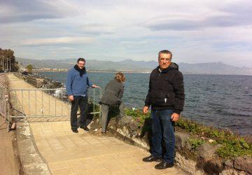 Danni mareggiata Riposto: nuova ricognizione
