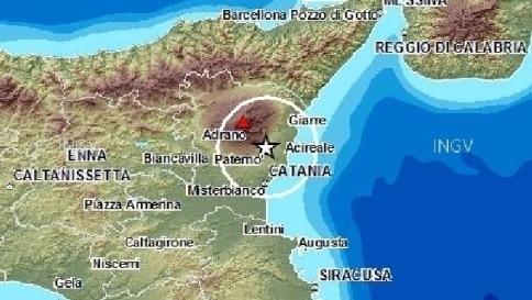 Scossa di terremoto nell'area pedemontana