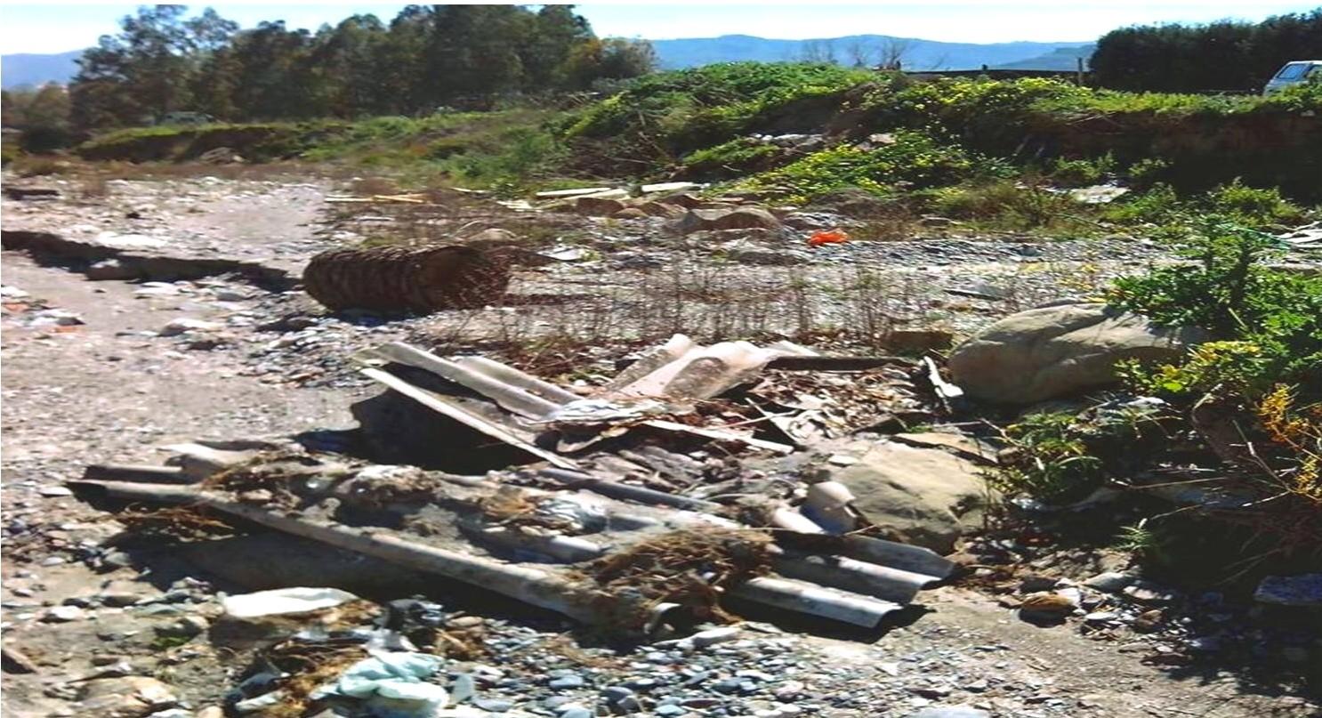Francavilla, degrado ambientale nei torrenti