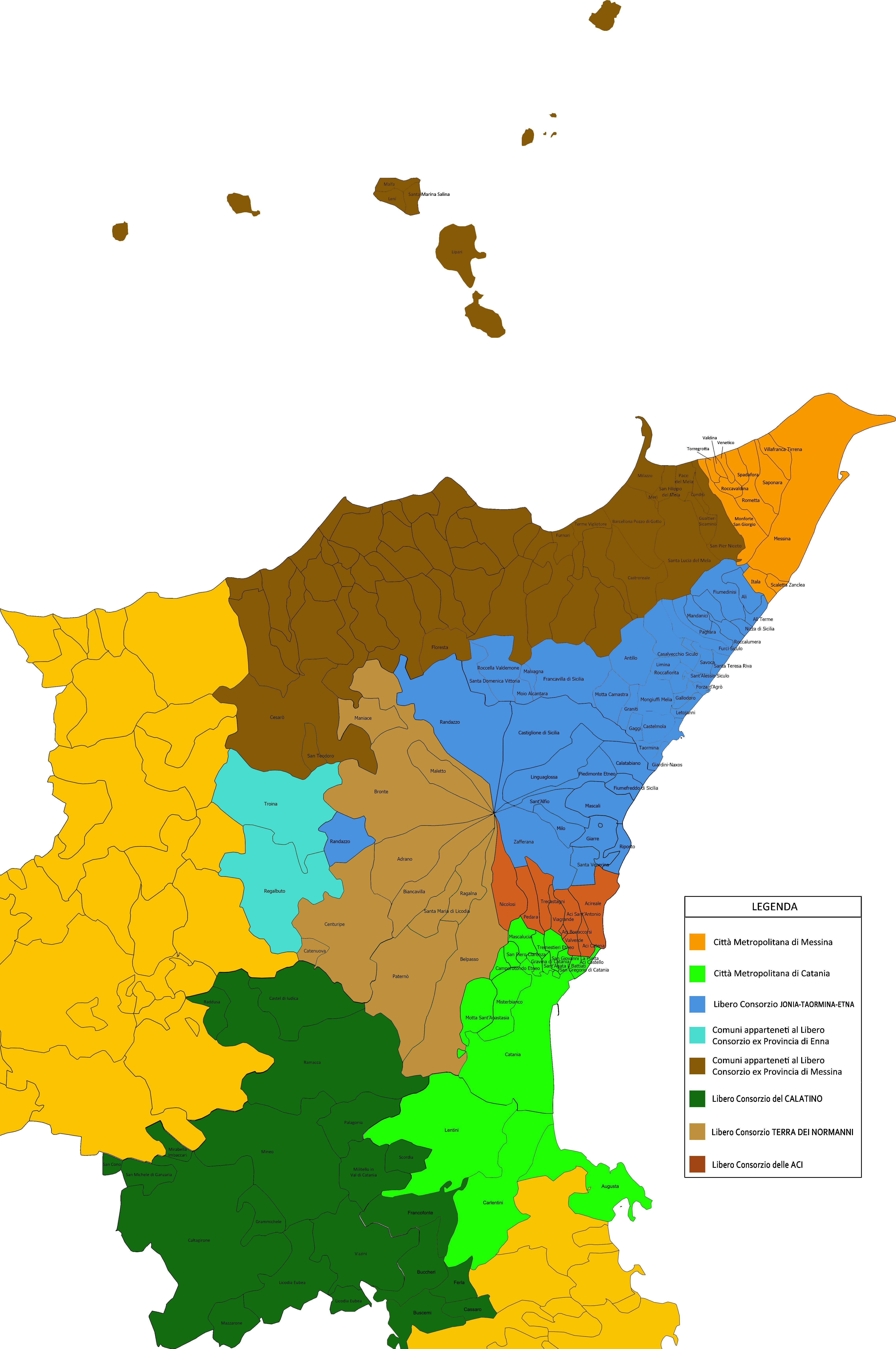 Province e Liberi Consorzi, un po' di chiarezza!