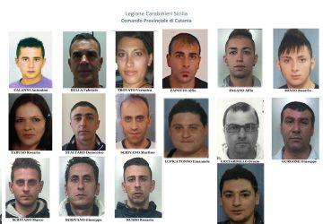 Randazzo operazione dei carabinieri: 16 arresti
