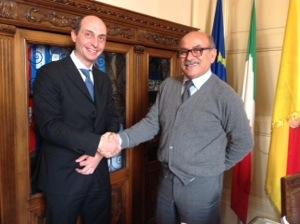 Riposto, Console Lituania incontra il sindaco VIDEO