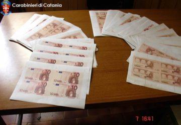 Catania, madre e figlio falsificavano denaro in casa