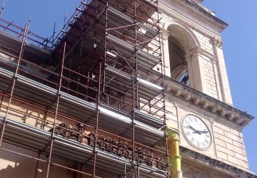Duomo Giarre, cantieri sospesi: appello del parroco VIDEO