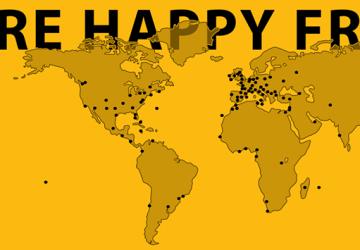 """""""Anche Giarre è Happy nel mondo"""""""