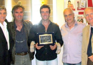 """Giardini Naxos: targhe """"TIM"""" ai campioni di canoa"""