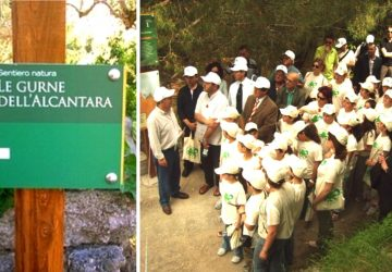 """European Clean Up Day"" con il Parco Fluviale dell'Alcantara"