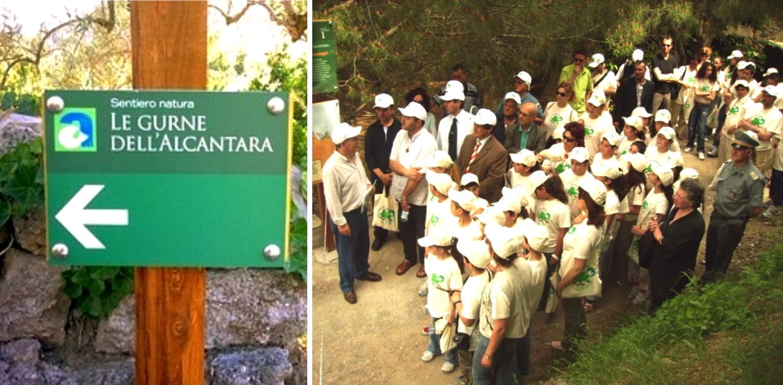 """""""European Clean Up Day"""" con il Parco Fluviale dell'Alcantara"""