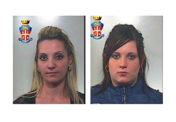 Giardini Naxos, arrestate per furto