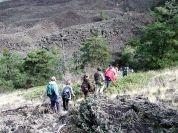Zafferana, salvati tre escursionisti sull'Etna