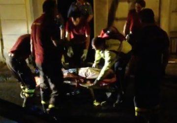 Giarre, le immagini esclusive del suicida soccorso dal 118 VIDEO