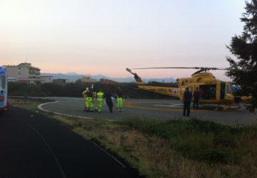 Ultim'ora: grave incidente sull'A18 vicino Giarre. Tenente dell'Esercito prelevato da elisoccorso