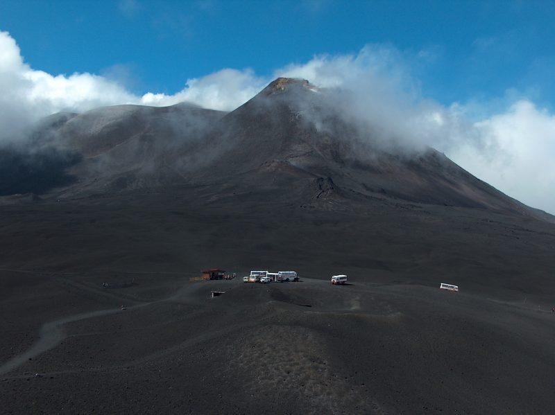 Scossa di terremoto sull'Etna
