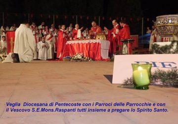 Giarre, una veglia di Pentecoste per rinsaldare la fede