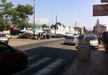 Ambulanti abusivi Giarre, al via operazione congiunta di carabinieri e polizia locale