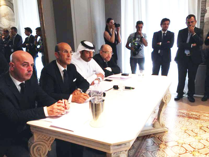 Emiro del Qatar in visita a Riposto