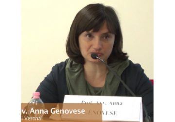"""Anna Genovese, originaria di Aci Catena ed ex alunna del """"Gulli e Pennisi"""" di Acireale, nominata componente della Consob"""