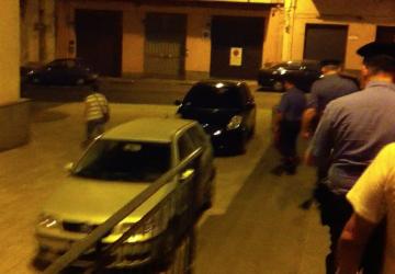 Giarre, piazza Peri, scoppia una lite VIDEO