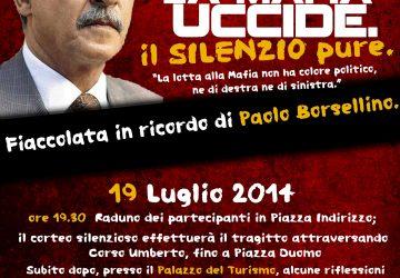 Acireale, i giovani si mobilitano per ricordare Paolo Borsellino
