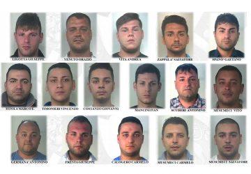 """Catania, operazione antidroga """"Lava"""" I VOLTI"""