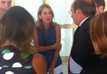 Blitz a sorpresa dell'assessore Borsellino al S.Isidoro: la mia non è una passerella VIDEO