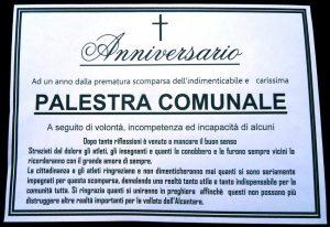 Francavilla di Sicilia, palestra comunale