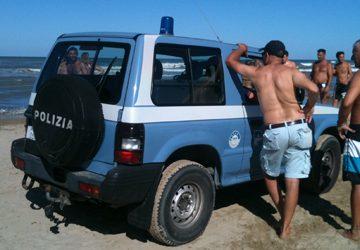 Ferragosto, controlli della Polizia a Catania, Acireale e Acicastello