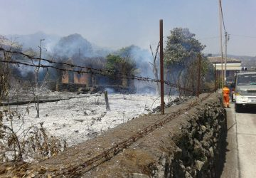 Macchia di Giarre, ennesimo incendio