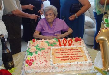 La nonnina di Mascali compie 100 anni