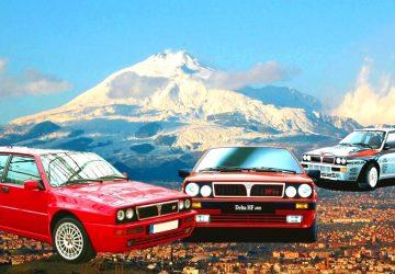 "Sua Maestà l'Etna rende onore alla ""Regina del Rally"""