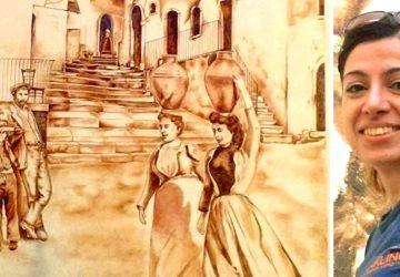 """A """"Graniti Murales"""" il piccolo mondo antico di Maria Cristina Paffumi"""