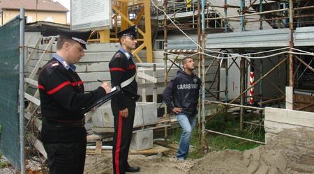 Cantieri edili, controlli dei carabinieri del Nucleo Ispettorato Lavoro a Bronte, Maletto e Giarre
