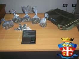 Letojanni, un arresto per droga
