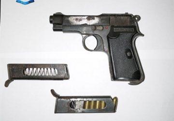 Trappitello (Taormina) casalinga deteneva illegalmente una pistola: arrestata