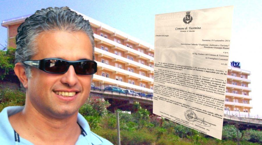 """L'ospedale di Taormina e le prenotazioni """"vietate"""" ai cellulari: scende in campo il presidente D'Aveni"""