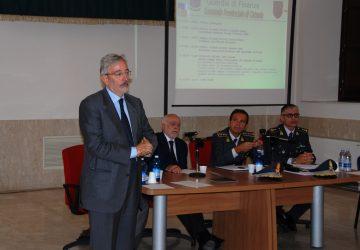 """Catania, seminario della GdF  """"Le indagini patrimoniali e le misure di prevenzione"""": profili normative e tecniche operative"""