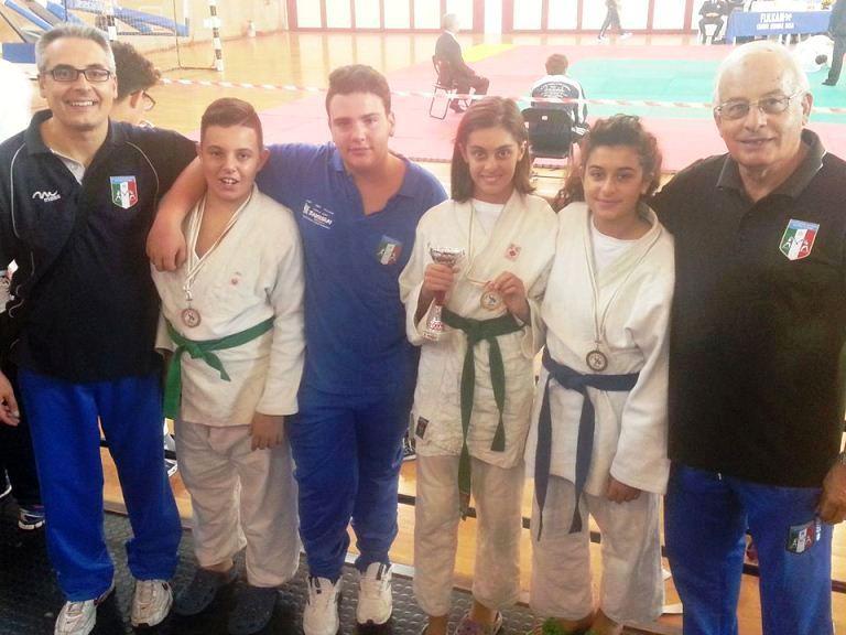 Judo, podio tutto ripostese a Palermo