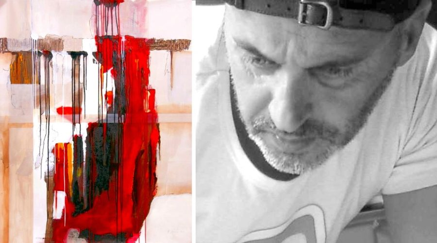 """Il pittore Fradale in vetta alla """"Biennale"""" di Facebook"""