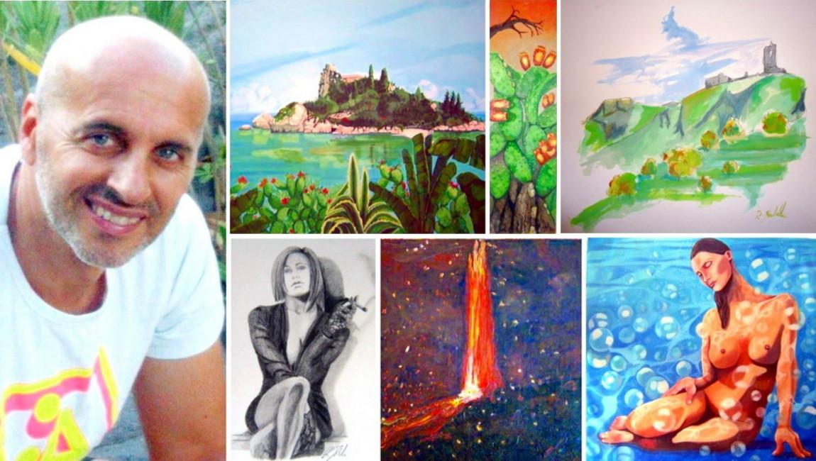 Il pittore fradale in vetta alla biennale di facebook for Mobilia francavilla