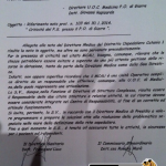 lettera a Rapisarda