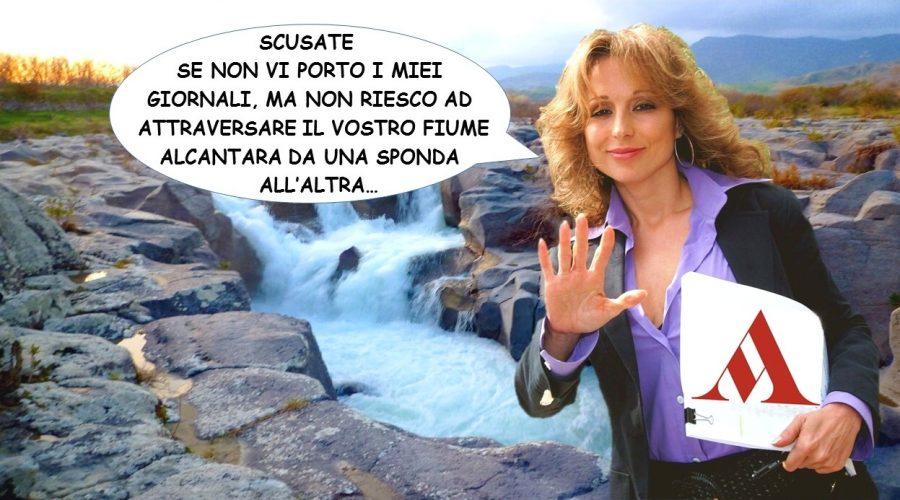 """La Valle dell'Alcantara """"off limits"""" per Mondadori"""