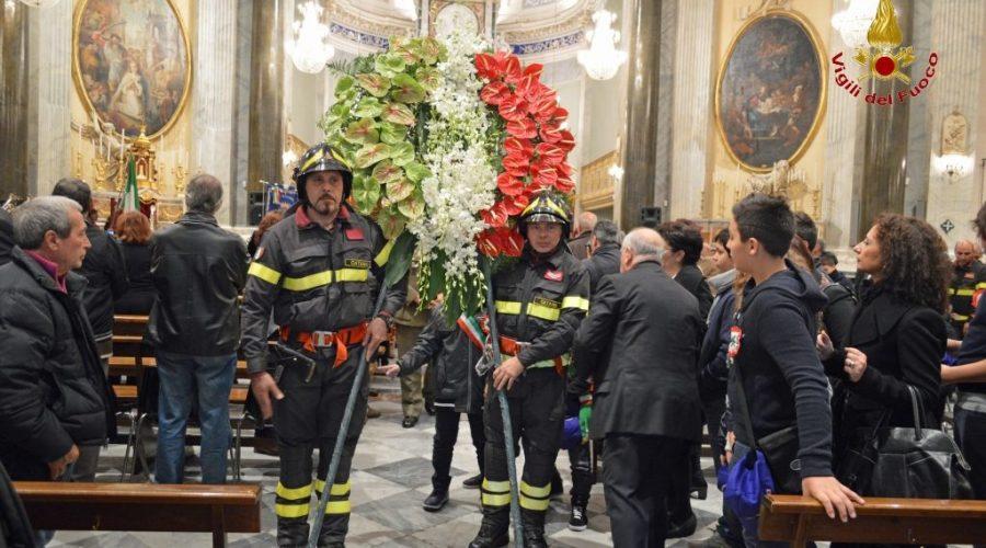 Premio alla memoria al vigile del fuoco deceduto in servizio a Catania