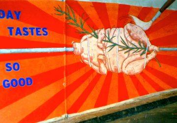 Giardini Naxos: il murales dello scandalo