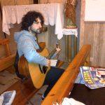 Il chitarrista Andrea Caruso