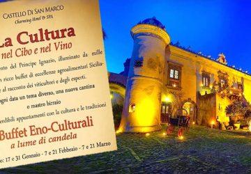 """Il gusto più autentico della sicilianità all'Hotel """"Castello San Marco"""" di Calatabiano"""
