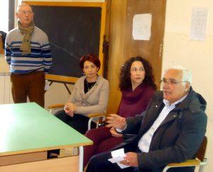 Giuseppe Randazzo, Pina Carbone, Angela Mancuso e Riccardo Gulotta