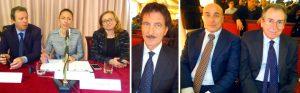 Pier Paolo Dell'Omo, Zaira Marolda, Francesca Luciani, Ezio Veggia, Daniele Lattanzi e Franco Del Manso