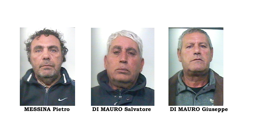 Catanesi in trasferta a ramacca arrestati per furto for Di mauro arredi zafferana