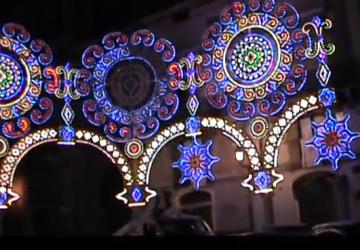 Acireale, si accendono le luci sulla festa di San Sebastiano VIDEO